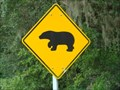 Image for Bear Crossing Sign - Keystone Heights, Florida