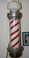 Image for Barber Pole - Scotland County Museum - Laurinburg, NC, USA