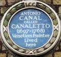 Image for Antonio Canal (Canaletto) - Beak Street, London, UK