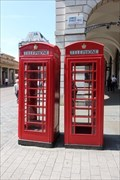 Image for Red Telephone Boxes - James Street, London, UK