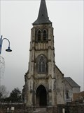 Image for Le Clocher de l'Eglise Saint-Pierre - Neufchâtel-Hadelot, France