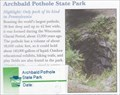 Image for Archibald Pothole State Park - Archbald, PA