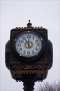 Image for Connellsville Town Clock, Connellsville, PA