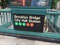 Image for Brooklyn Bridge – City Hall/Chambers Street Subway Station - New York, NY