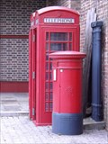 Image for Victorian Post Box - Tobacco Dock, London, UK
