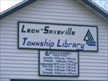 Image for Leon - Saxeville township library - Pine River, Wi 54965