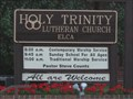 Image for Holy Trinity Lutheran Church - Kingsport, TN