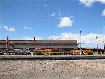 BNSF Locomotive Facility - Denver, CO - Active Rail