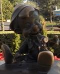 Image for Pinocchio & the 12927 Pinocchio Asteroid  -  Anaheim, CA