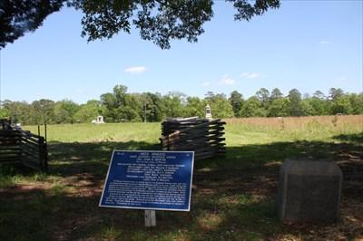 Heg's Brigade - Chickamauga NBP (N 34 54.899 W 85 15.768)