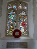 Image for Memorial Window - All Saints - Beyton, Suffolk