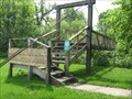 Image for Margaret Guye Woods Swinging Bridge – rural Winterset, IA