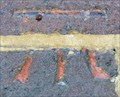 Image for Cut Bench Mark - Cheyne Walk, London, UK