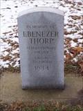 Image for Ebenezer Thorp - Brookside Cemetery - Tecumseh, Michigan