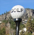 Image for Golf Ball and Tee - Peachland, British Columbia
