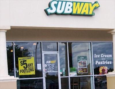 Subway Sumter Blvd North Port Fl Restaurants On Waymarking