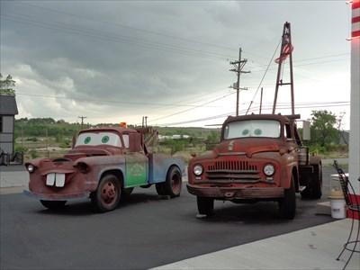 veritas vita visited Radiator Springs