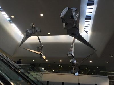 The Hesperides, Looking Up, SFO Terminal 3, San Francisco, California
