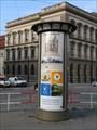 Image for Advertising Column 'Karlovo nám.' - Prague/Czech Republic