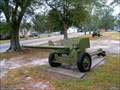 Image for 57 mm Antitank Gun Scotland Post 50 Ameican Legion - Laurinburg, NC