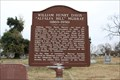 "Image for William Henry Davis ""Alfalfa Bill"" Murray - Tishomingo City Cemetery - Tishomingo, OK"