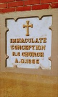 Image for 1896 - Church of the Immaculate Conception - Connellsville, Pennsylvania