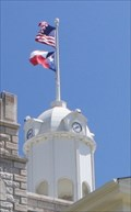 Image for Hamilton County Courthouse Clock Tower -- Hamilton TX