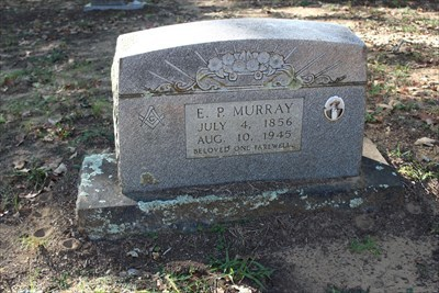 That may or may not be the E.P. Murray referenced on the historical marker.