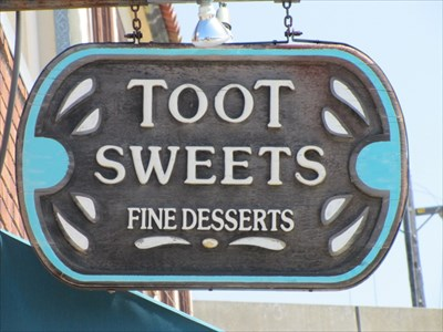 Toot Sweets Sign, Berkeley, CA