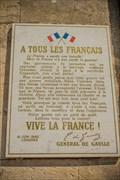 Image for L'appel du 18 juin 1940 - Place Joseph Malval - Nancy, FR