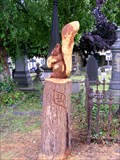 Image for Squirrel, Wombwell Cemetery, Barnsley, South Yorkshire, UK.