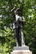 Image for 24th Wisconsin Infantry Regiment Monument - Chcickamauga National Battlefield