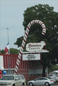 Image for Texas-Sized Candy Cane -- Lamme's Candies, Austin TX