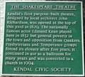 Image for Shakespeare Theatre, Highgate, Kendal, Cumbria, UK