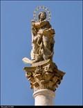 Image for Immaculata on Marian Column / Immaculata na mariánském sloupu -  Nymburk (Central Bohemia)