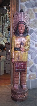 Image for Heritage Trading Post Cigar Store Indian - Calgary, Alberta