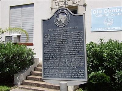 Public Education for Blacks in Galveston