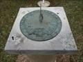 Image for Royal Air Force Memorial Sundial - Oakland Memorial Park - Terrell, TX
