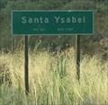 Image for Santa Ysabel, California ~ Population 463