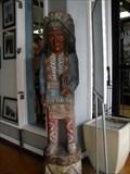 Image for Balboa Pavilion Cigar Store Indian, Newport Beach, CA