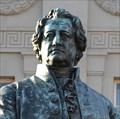 Image for Poet J.W. v. Goethe & Goethe-Basin on Mercury