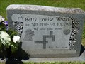 Image for Betty Louise Wester - Jacksonville, FL