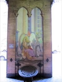Allen Tupper True mural