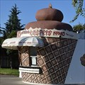 Image for Giant Ice Cream Cone - Manteca, California