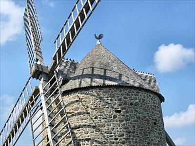 Windmill in Cherrueix.