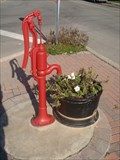 Image for Red Hand Pump - Lyn, Ontario