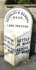 Image for Milestone - Main Street, Long Preston, Yorkshire, UK.
