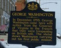 Image for George Washington's First Public Mission - Waterford, Pennsylvania