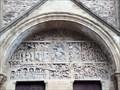 Image for Le tympan du Jugement dernier - Abbatiale Sainte-Foy - Conques (Aveyron), France