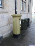 Image for London 2012 Gold Post Box - St Paul's Square, Bedford, UK